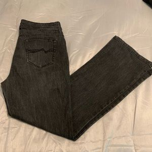 Black jeans good condition flare